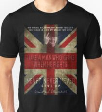 churchill Unisex T-Shirt