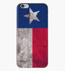 Vintage Vertical State Flag of Texas iPhone Case