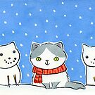 Snow Cats by zoel
