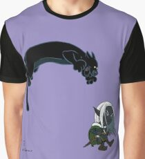 Drizzt and Guenhwyvar Graphic T-Shirt
