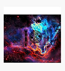 Dr Who Galaxy Photographic Print