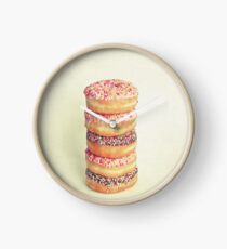 Stack of Donuts Clock
