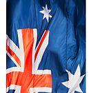 Waving Flag of Australia by pjwuebker