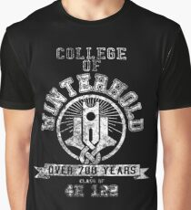 Skyrim - College Of Winterhold - College Jersey Graphic T-Shirt