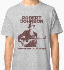 Camiseta clásica Robert Johnson - Rey del Delta Blues