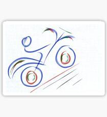 Motorbike Sticker