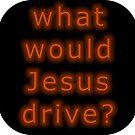 What Would Jesus Drive WWJD Retro ? by hilda74