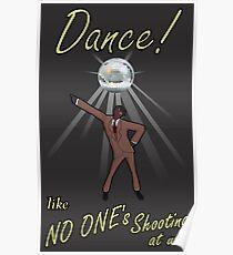 Dance, Gentlemen! Poster