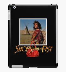 Geschäfte mit einer Faust iPad-Hülle & Klebefolie