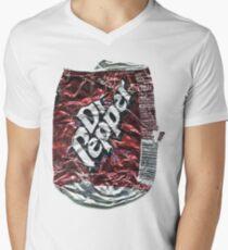 Crushed Dr Pepper Tin Men's V-Neck T-Shirt