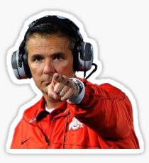 Urban Meyer OSU Head Coach Sticker