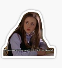Rory Gilmore Girls Sticker