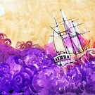 Sailing Ship by Roz McQuillan
