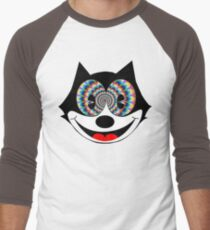 trippy felix Men's Baseball ¾ T-Shirt