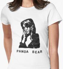 Panda Bear (Tomboy) Womens Fitted T-Shirt