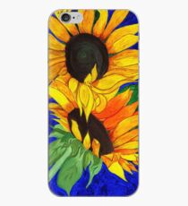 Sunflower Sister 2nd part iPhone Case