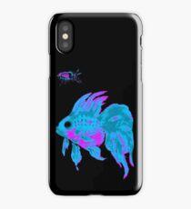 cool electric goldfish & bug iPhone Case/Skin