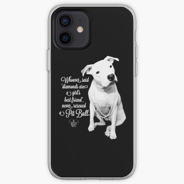 Girls Best Friend Rescued Pit Bull iPhone Soft Case