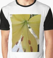 Yellow Lily Macro 2 Graphic T-Shirt
