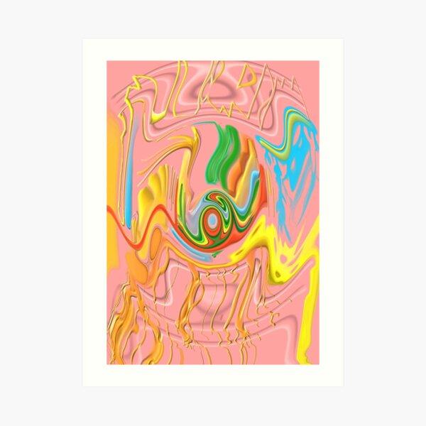 """Drippy Flux"" Art Print"