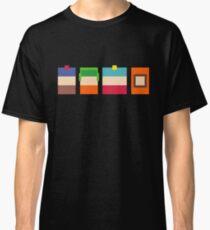 South Park Boys Pixel Art Classic T-Shirt