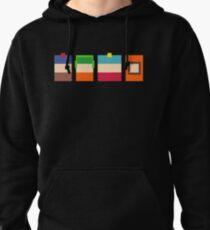 South Park Boys Pixel Art Pullover Hoodie