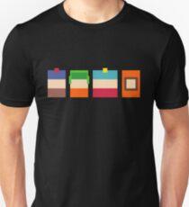 South Park Boys Pixel Art Unisex T-Shirt