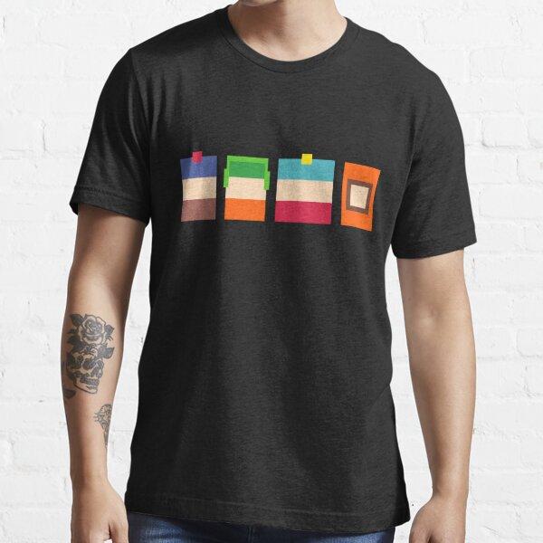 South Park Boys Pixel Art Camiseta esencial