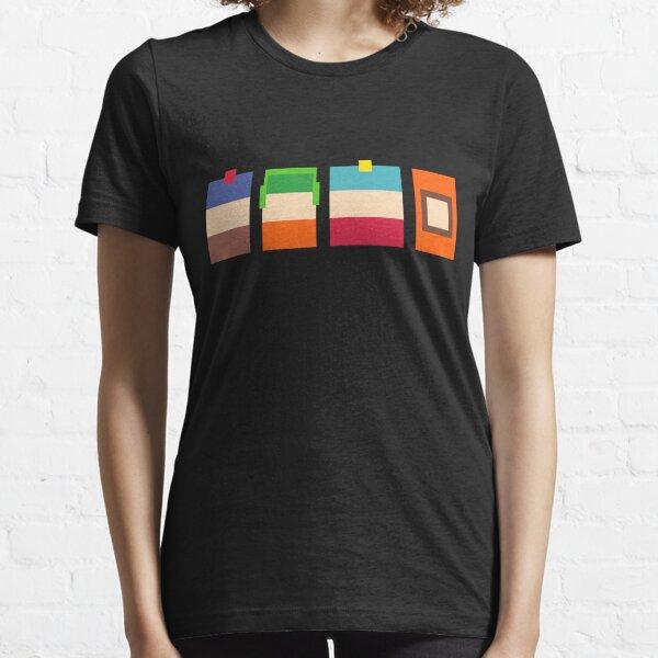 South Park Boys Pixel Art Essential T-Shirt