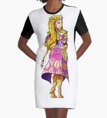 Zelda Graphic T-Shirt Dress