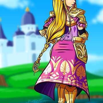 Zelda by brianfarrarart