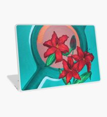 LILIES FOR MY LOVE Laptop Skin