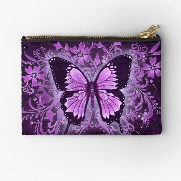Butterfly Healing - Purple Dreams Zipper Pouch