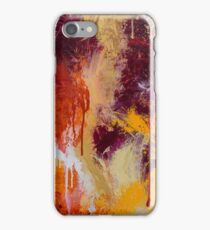 Bold Abstract Splatter - Citrus iPhone Case/Skin
