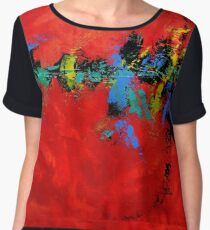 """""""Unexpected Passion"""" Chiffon Top"""