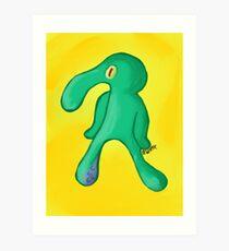 SQUID Art Print