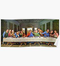 Steve's last supper Poster