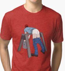 Bent Over Tri-blend T-Shirt