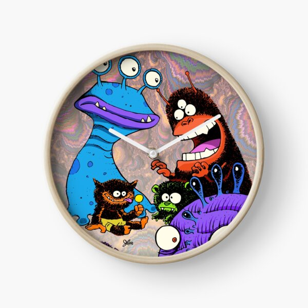 Monster Party Clock