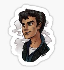 Boy with the Broken Halo (Fallout 3) Sticker