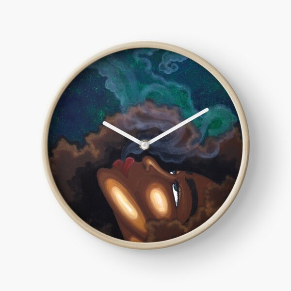 LETTING GO Clock