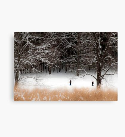 The Distance Between Canvas Print