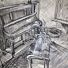 A Ghost at the Piano, (Commissioned Piece) by Rich McLean