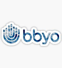 BBYO Tie Dye Sticker