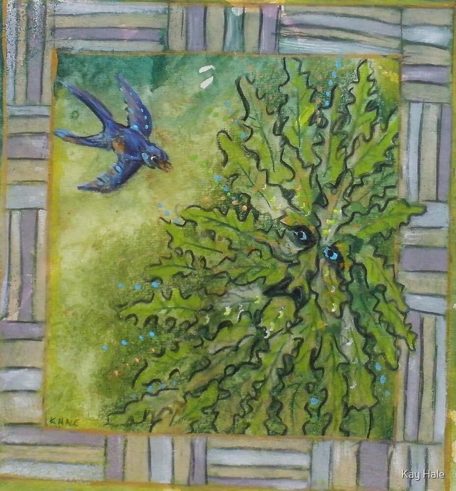 Green Man #7 by Kay Hale