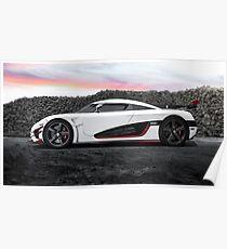 Koenigsegg One:1 Poster