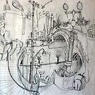 Amalgam of Melbourne Landmarks I studied by Rich McLean