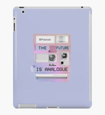The future is analogue iPad Case/Skin
