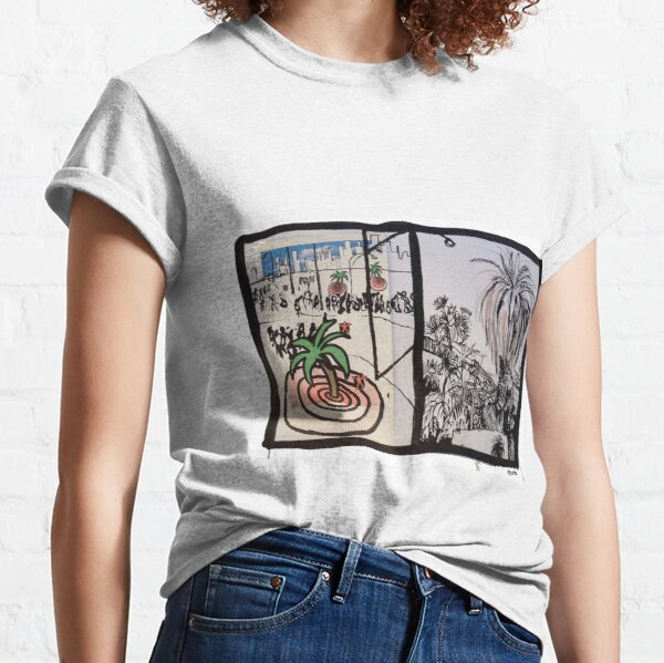The Palm Tree, and The Palm Tree (Contrasting Styles) Classic T-Shirt