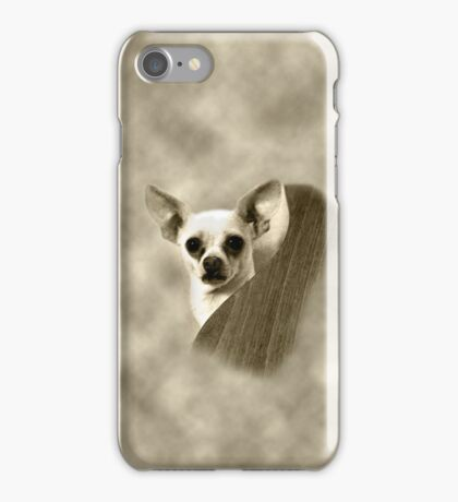 Chihuahua and the Guitar Message iPhone Case/Skin